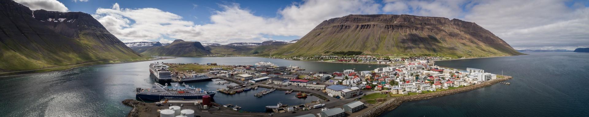 Ísafjörður, Pano