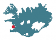 Map of Iceland - Akranes