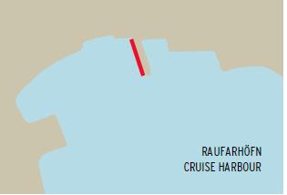 Raufarhöfn, harbor map